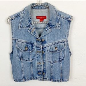 Banana Republic l Vintage Denim Vest